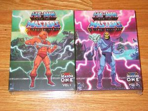 He-man Masters of the Universe season 1: vol 1 and 2 dvd sets for Sale in Crestwood, KY