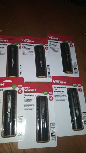 Hyper Tough rechargeable flashlights for Sale in Redlands, CA
