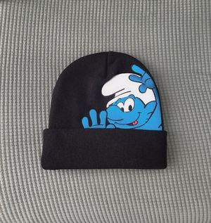 Black supreme smurfs unisex beanie for Sale in Los Angeles, CA
