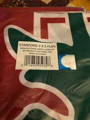 Stanford 3' x 5' Flag UT6• for Sale in Hayward, CA