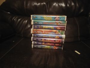 Disney masterpiece collection and the classics collection 130 total for Sale in Abilene, TX