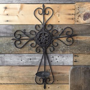 Metal Cross Candle Holder for Sale in Palm City, FL