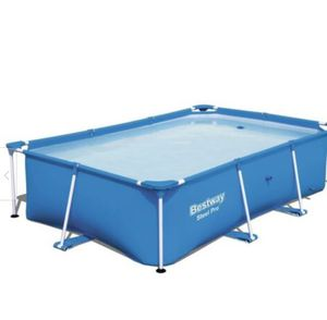 Bestway Steel Pro 8.5' x 5.6' x 2' Rectangular Ground Swimming Pool (Pool Only) for Sale in Arlington, VA