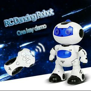 Electric Intelligent Robot Rotating RC Dancing Robot Walking Light Musical Kid Toy with Remote Control for Sale in Cambridge, MA