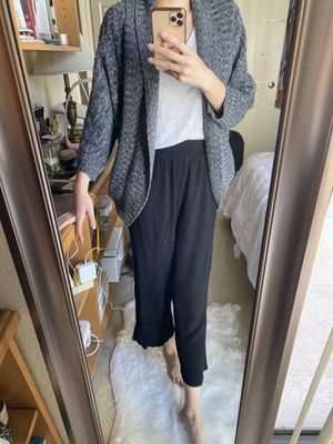 Gray knit sweater cardigan for Sale in Monterey Park, CA
