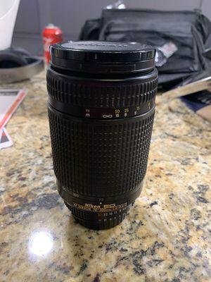 Nikon 70-300mm 4-5.6 ED lens for Sale in Little Elm, TX