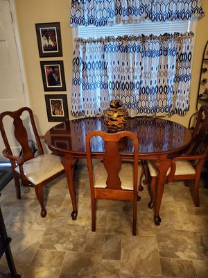Dining Table with 6 Chairs for Sale in San Leandro, CA