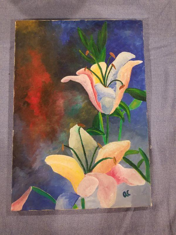 Original Art on canvas - painting