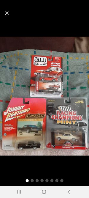 JL/RC/AW ~ Pontiac '60s-'70s Sport Cars for Sale in Williamsport, PA