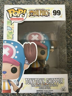 Tony chopper one piece funkopop anime toy bobble head for Sale in San Leandro, CA