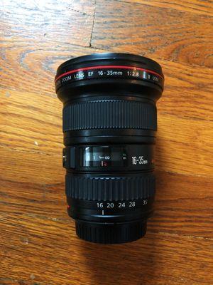 Canon 16-35mm f2.8L II lens for Sale in Seattle, WA