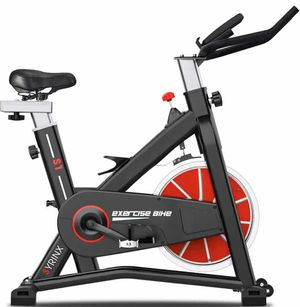 Exercise Bike Indoor Cycling Bike Stationary Bikes Spin Bikes for Home Gym Fitness Machine Belt Drive Excersize Bicycle Cardio Workout Heavy F for Sale in Rancho Cucamonga, CA