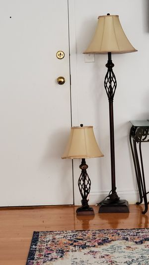 Floor & table lamp 2 for 1 sale for Sale in Everett, MA