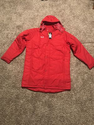 NWT Under Armour Infrared Elevate Jacket Red 1259104 834 - Size z XL MSRP $199 New with tags for Sale in French Creek, WV