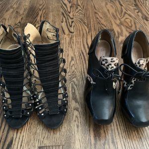 2 Pairs LAMB Gwen Stefani Pumps, Oxfords Sz 5.5 for Sale in Seattle, WA