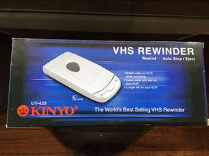 KINYO VHS REWINDER (New in Box) for Sale in Fishersville, VA