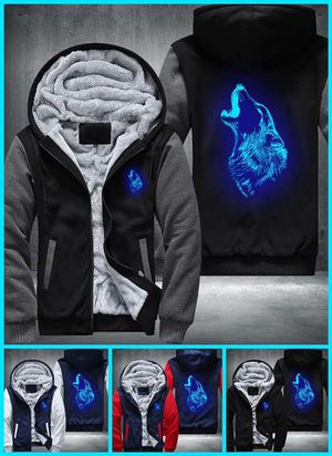 Wolf Jacket Glowing Hoodie for Sale in Dedham, MA