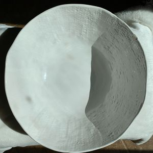 Huge deep white ceramic display bowl for Sale in Encinitas, CA