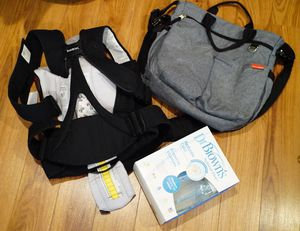 Baby diaper bag pump carrier bottles for Sale in Germantown, MD