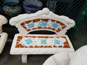 Bench with back for Sale in Pompano Beach, FL