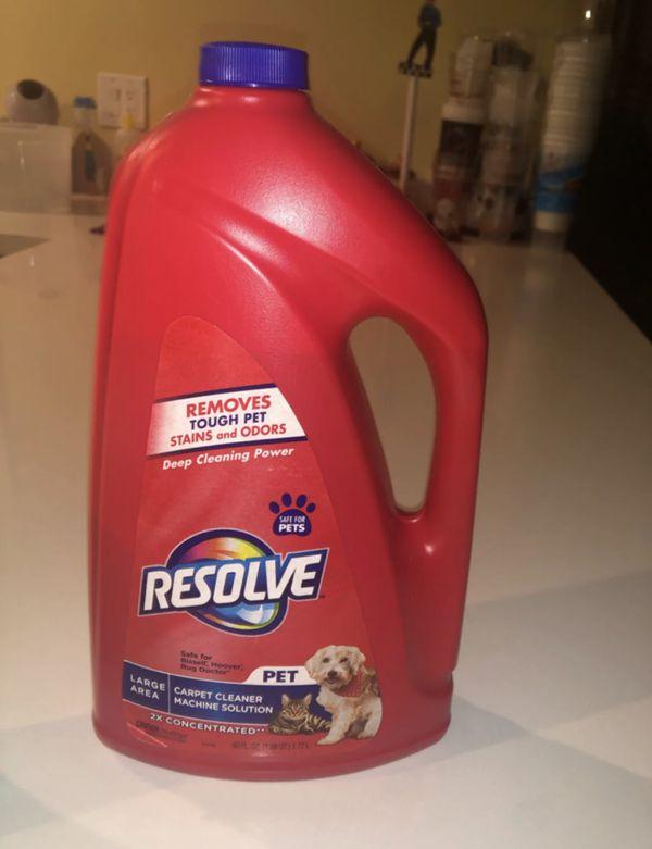 Resolve carpet pet cleaner 60 fl oz