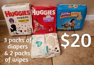 DIAPERS SUPER XMAS BUNDLE SALE for Sale in Phoenix, AZ