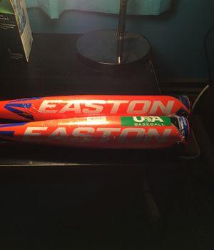 2 brand new Easton metal bats for Sale in Salem, MA