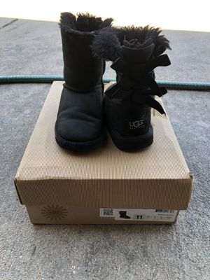 Ugg little girl boots for Sale in Westminster, CO