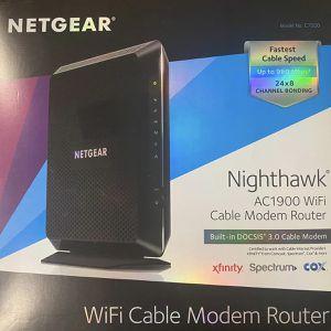Netgear nighthawk Ac1900 Wifi Cable Modem Router for Sale in Phoenix, AZ