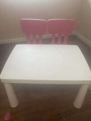 IKEA kids table and chair set for Sale in Fort Washington, MD