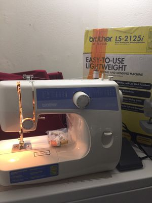 BROTHER SEWING MACHINE 2125i - LIKE NEW for Sale in Lake Forest, CA