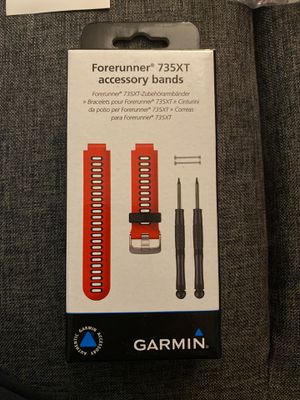 Garmin Forerunner 735XT extra red band for Sale in New York, NY
