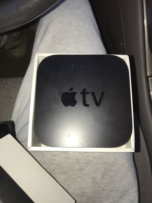 Apple TV with power adapter and remote for Sale in Elmhurst, IL