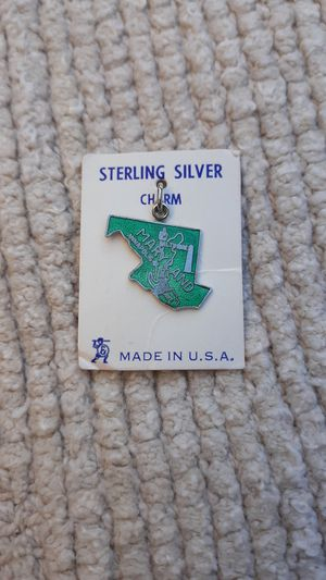 Maryland State Sterling Silver Charm for Sale in Chandler, AZ