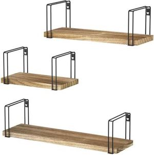 3 Piece Rustic Floating Wall Shelves for Sale in Corona, CA