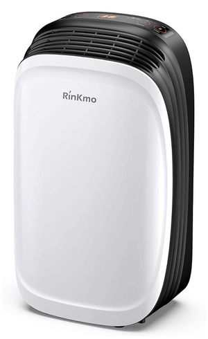 RINKMO 30 Pint Dehumidifier for Home Basements Bedroom Garage, Safe Mid Size Portable Dehumidifiers for Medium Spaces up to 1000 Sq Ft with Continuou for Sale in Bakersfield, CA