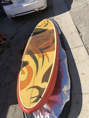 11 ft paddle board with cover for Sale in Los Angeles, CA