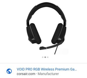 VOID PRO PREMIUM GAMING WIRELESS HEADSET for Sale in Queens, NY