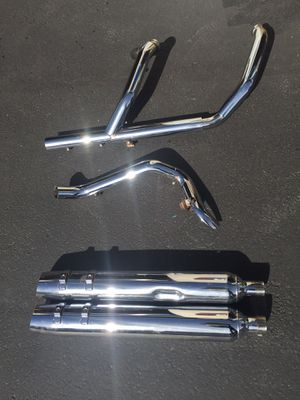 Harley-Davidson exhaust and slip on pipes for Sale in Seattle, WA