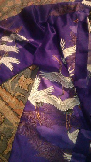 Halloween costume, purple kimono like new for Sale in Oceanside, CA