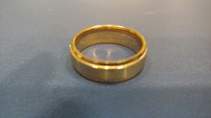 Rose gold men's wedding ring size 11 for Sale in Hacienda Heights, CA