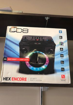 808 HEX ENCORE Wireless Bluetooth Speaker for Sale in Southfield, MI