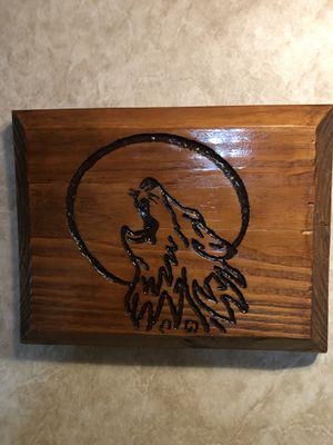 Wood Frame Wolf for Sale in Clarksburg, WV