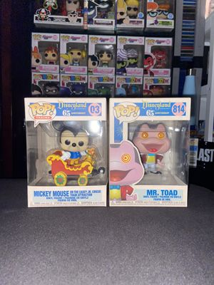 Disneyland 65th Anniversary Funko Pop Bundle for Sale in Sterling, VA
