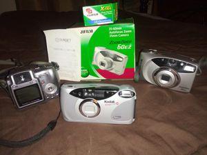 Kodak n Fuji camera's for Sale in San Antonio, TX