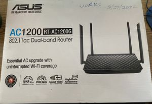 Asus AC1200 RT-AC1200 router for Sale in Sacramento, CA