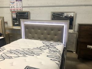 Lyssa Queen bed frame for Sale in Lansing, MI