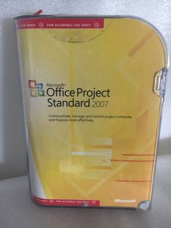 Microsoft Office Project Standard 2007 for Sale in Vandergrift,  PA