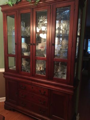 Cherry China Cabinet for Sale in Sanford, FL