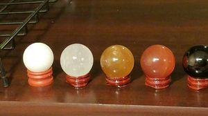 Beutiful natural quartz crystal healing balls spheres. 40 mm for Sale in Salt Lake City, UT